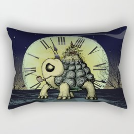 Time to leave Rectangular Pillow