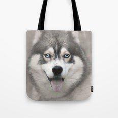 Siberian Husky 2 Tote Bag