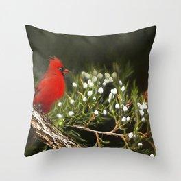 Virginia State Bird Throw Pillow