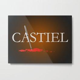 Castiel Metal Print