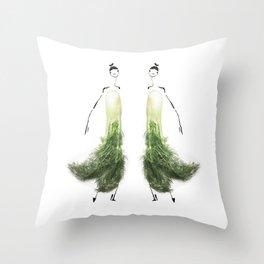 Edible Ensembles: Fennel Throw Pillow