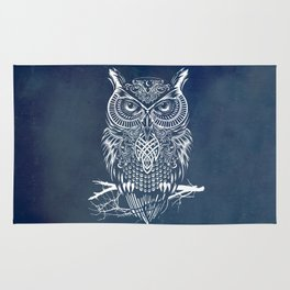 Warrior Owl Night Rug