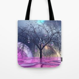 the crying tree Tote Bag