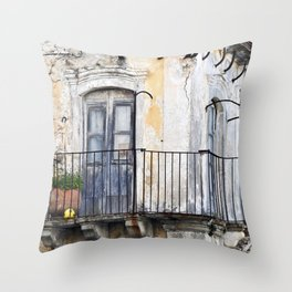 MEDIEVAL FORGOTTEN SOUND Throw Pillow