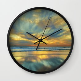 Ebb Tide Square Wall Clock