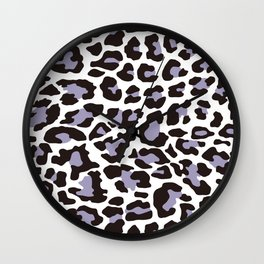 Snow Leopard Pattern_C Wall Clock