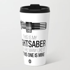 This is my Lightsaber (Vader Version) Travel Mug