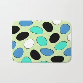 Polka Dotts Colorful Pattern Bath Mat