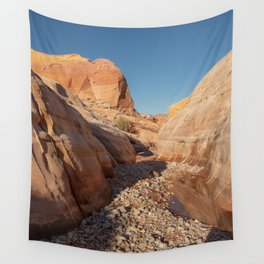 After the Rain - I, Valley_of_Fire Canyon, NV Wall Tapestry