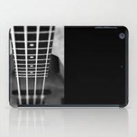 bass iPad Cases featuring bass guitar by Falko Follert Art-FF77