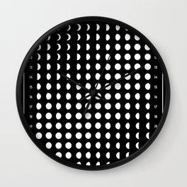 Lunar Calendar 2019 Wall Clock