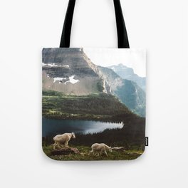 A Walk With The Mountain Goats Tote Bag
