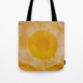 Yellow circle Tote Bag