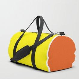 TEAM COLORS 10 ...YELLOW, ORANGE Duffle Bag
