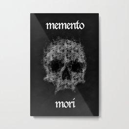 Memento Mori Skull by Brian Vegas Metal Print