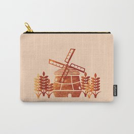 Windmill & Wheat Carry-All Pouch