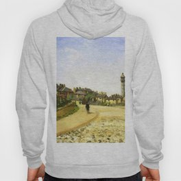 Upper Norwood Chrystal Palace London 1870 By Camille Pissarro | Reproduction | Impressionism Painter Hoody