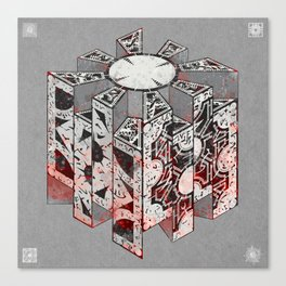 Hellraiser Puzzlebox D Canvas Print