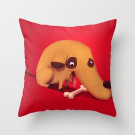 Poorly designed creatures # 1 Throw Pillow
