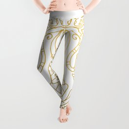 Anubis Mandala – Egypt Leggings