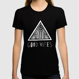 Good Vibes grey  mindset T-shirt