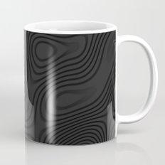 Organic Abstract 01 BLACK Mug