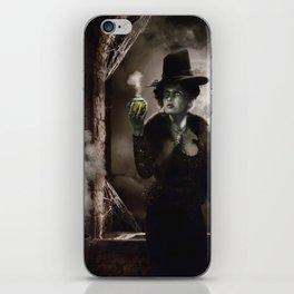 Zelena Halloween iPhone Skin