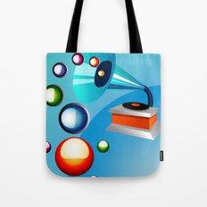 Atomic Music Tote Bag