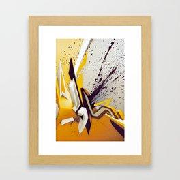 Suchende Geborgenheit Framed Art Print