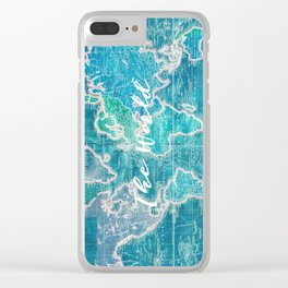 The World Clear iPhone Case