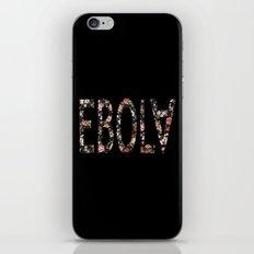 Floral Ebola iPhone & iPod Skin