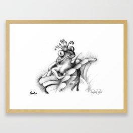GODRIC Frog Prince Print Framed Art Print