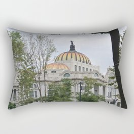 palacio de bellas artes Rectangular Pillow