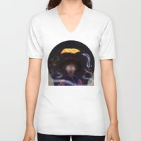 the legend of korra V-neck T-shirts featuring Avatar Korra by BeereJade