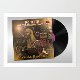 Dr Teeth & The Electric Mayhem Live at Budokan Art Print