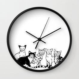 CAT AVENGER Wall Clock