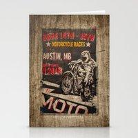 austin Stationery Cards featuring Austin by desirae samantha