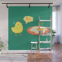 Chick Tragedy Wall Mural