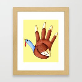 1st Turkey Framed Art Print