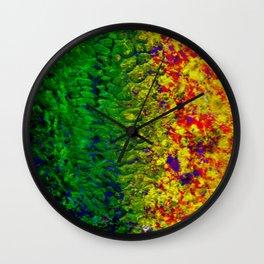 Oozing Colors Wall Clock