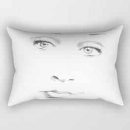 Le Visage Pâle (The Pale Face) Rectangular Pillow