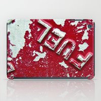 pocket fuel iPad Cases featuring Fuel by AmandaMuses