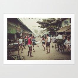 Asia 13 Art Print