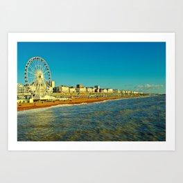 Brighton Seafront Art Print
