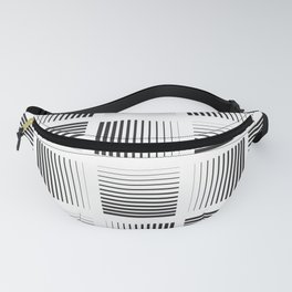 Weaving lines in Square home Decor Fanny Pack