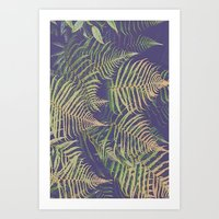 fern Art Prints featuring Fern by 83 Oranges™