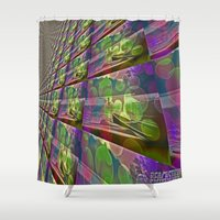 silent Shower Curtains featuring Silent Peace by BeachStudio