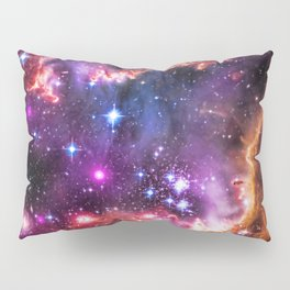 Small Magellanic Cloud's Starry Wingtip Pillow Sham