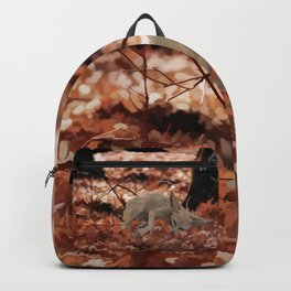 When a little fox sleeps Backpack