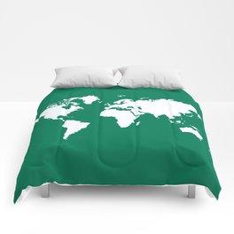 Emerald Elegant World Comforters